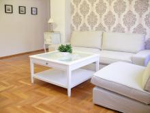 Appartement Nr. 1 - Wohnzimmer, Wohnzimmer, Sofa, Couchtisch