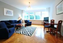 Apartment No. 2 - Living room, living room, sofa, coffee table, TV