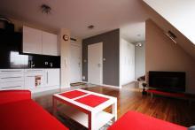 Apartment Nr 10 - Gästezimmer , Wohnzimmer, Sofa, Couchtisch